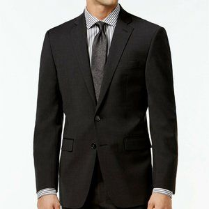 Calvin Klein Men's Suit Jacket 42L Charcoal Mabry